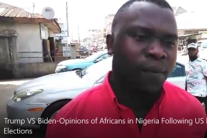 Nigerians react to US vote