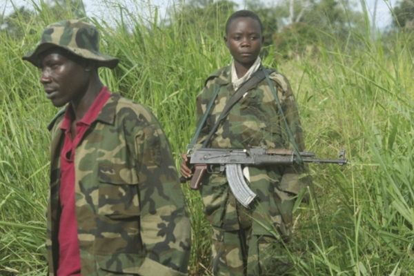 The use of child soldiers is commonplace in African conflicts.