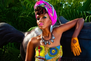 Ethiopian denim queen glams up Dubai