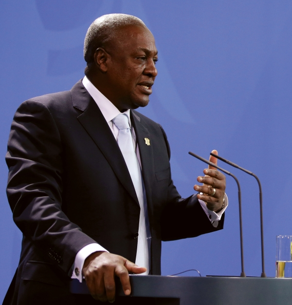 Mahama in come back bid