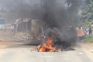 Protests met with violence in the former Swaziland