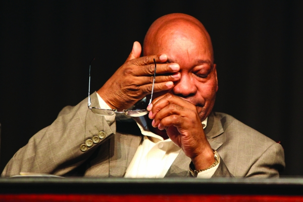 Jacob Zuma was forced to step down