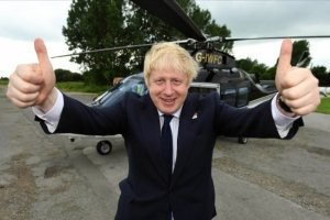 UK Prime Minister Boris Johnson campaigning during the 2016 Brexit referendum. PA Images