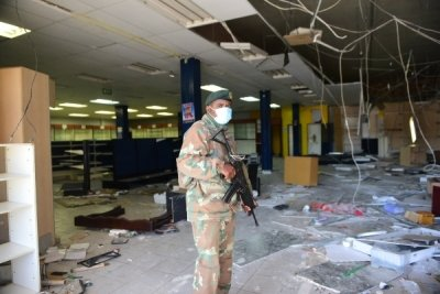 South Africa reeling after recent rioting
